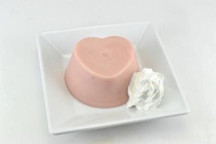 苺ミルクプリン